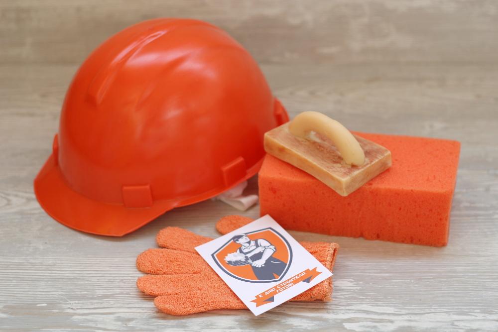 Подарок набор для строителя 87