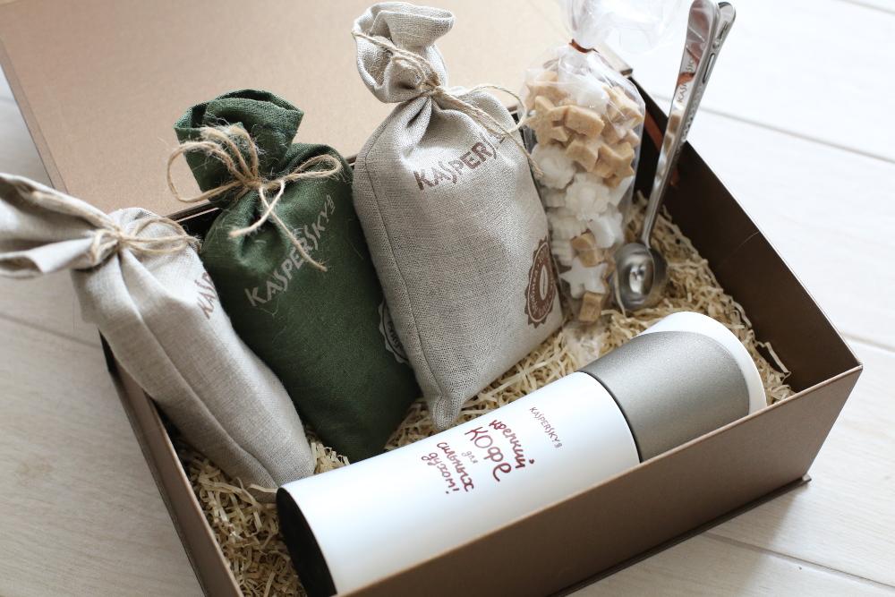 Корпоративные подарки - Кофейные наборы в подарок