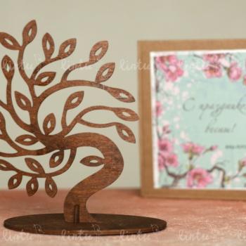 Весеннее дерево | Корпоративные подарки | Подарки коллегам на 8 марта | Подарки на день медика | Детские подарки оптом