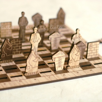 Строительные шахматы | Корпоративные наборы подарков | Новогодние корпоративные подарки оптом | Подарки на день химика | Новогодние подарк