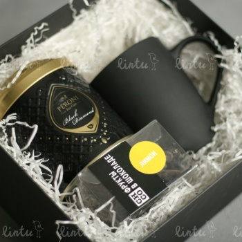 Man in black | Корпоративные подарки коллегам | Разработка корпоративных подарков | Корпоративные подарки на 23 февраля | подарки на день нефтяник