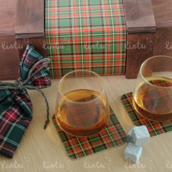 Шотландский набор для виски | Изготовление корпоративных подарков | Купить корпоративные подарки | Подарки на день химика | Подарки на день