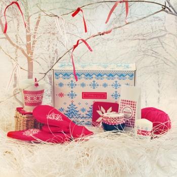 Вязаный набор | Изготовление корпоративных подарков | Купить корпоративные подарки оптом | Корпоративные подарки на 8 марта | подарки на ден