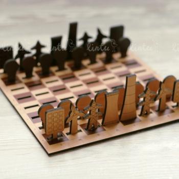 Тематические дорожные шахматы | Корпоративные подарки клиентам | Купить корпоративные подарки оптом | Разработка корпоративных подарков |