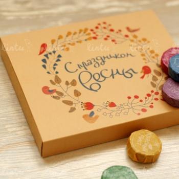 Весенний набор пуэра | Корпоративные подарки оптом | Купить корпоративные подарки | Подарки на 23 февраля коллегам | Подарки на день строител